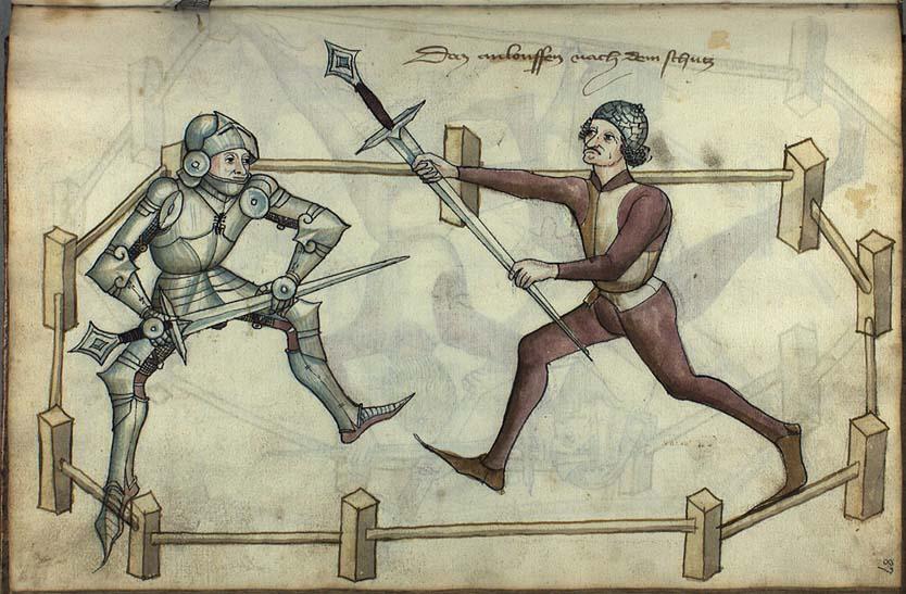 Section Escrime M�di�vale de la salle d'Armes de la Tour d'Auvergne